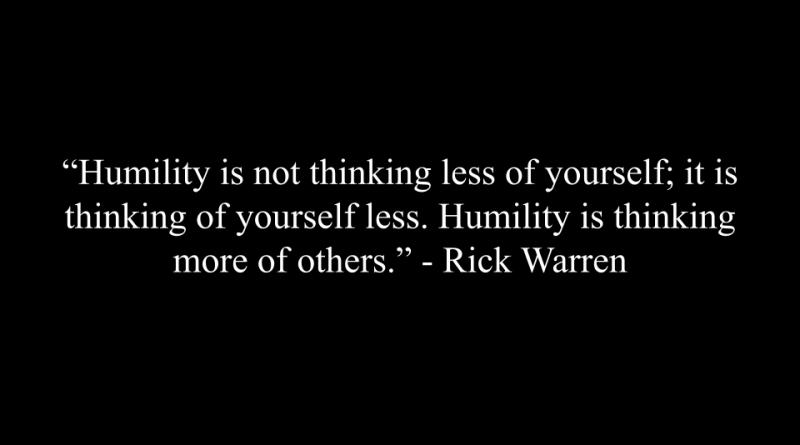 謙卑是什麼?